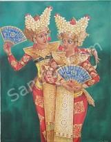 PB-01 Lukisan Penari Bali