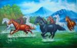 BN-03  Lukisan Kuda
