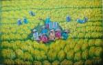 PD-016 Lukisan Panen