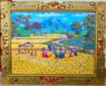 PD-020  Lukisan Panen Raya