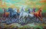 BN-01  Lukisan Kuda