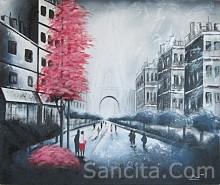 KT-01 Lukisan Kota Paris