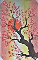 AR-01 Lukisan Bunga Sakura