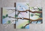 P3-20 Lukisan Panel Burung Jalak