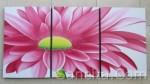 P3-06 Lukisan Minimalis Set / Panel Set Bunga Matahari