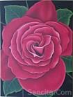 BG-02 Lukisan Bunga Mawar