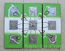 P3-11 Lukisan Minimalis Set / Panel Abstrak