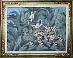 BR-02 Lukisan Burung Jalak Bali