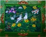 BR-01 Lukisan Burung Jalak Bali