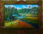 PD-030 Lukisan Panen Padi