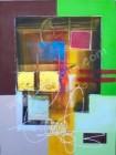 AT-17 Lukisan Abstrak