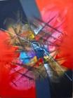 AT-05 Lukisan Abstrak