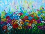 BG-13 Lukisan Bunga Palet