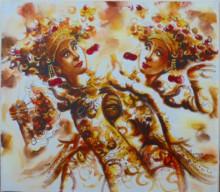PB-22 Lukisan Penari Bali