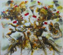 PB-21 Lukisan Penari Bali
