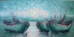 PM-05 Lukisan Perahu Nelayan