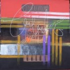 AT-18 Lukisan Abstrak