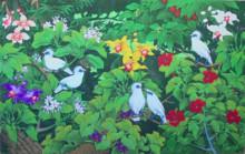 EP-02 Lukisan Burung Jalak Bali