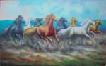 BN-05 Lukisan Kuda Berlari