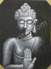 BA-03 Lukisan Kepala Budha