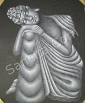 BA-09 Lukisan Budha