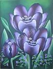 BG-14 Lukisan Bunga Tulip