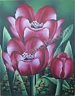 BG-15 Lukisan Bunga Tulip