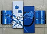 P4-40 Lukisan Minimalis Set
