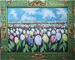BG-17 Lukisan Bunga Tulip