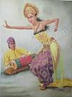 PB-06 Lukisan Penari Oleg