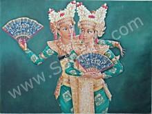 PB-13 Lukisan Penari Bali