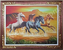 BN-06 Lukisan Kuda Berlari