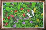 BR-11 Lukisan Burung Jalak Bali