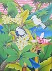 BR-06 Lukisan Burung Jalak Bali