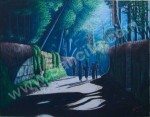 KP-02 Lukisan Kampung Tempo Dulu