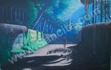 KP-04 Lukisan Kampung / Alam Pedesaan