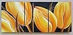 P3-28 Lukisan Minimalis Set Bunga Tulip