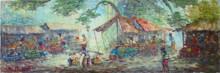 PS-031 Lukisan Pasar