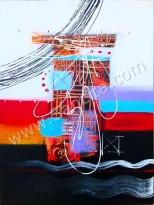 AT-26 Lukisan Abstrak