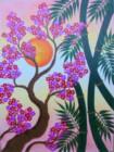 BG-41 Lukisan Sakura & Bambu