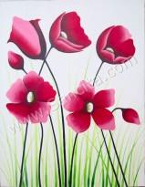 BG-37 Lukisan Bunga Sallas