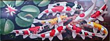 K-17 Lukisan Ikan Koi