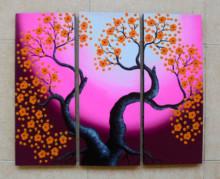 P3-39 Lukisan Panel Bunga Sakura