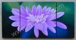 P3-42 Lukisan Minimalis Set / Panel Bunga Herbras