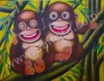 BN-12 Lukisan Monyet