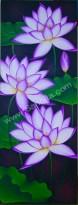 BG-47 Lukisan Bunga Lotus