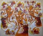 PB-34 Lukisan Penari Bali
