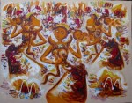 PB-33 Lukisan Penari Bali