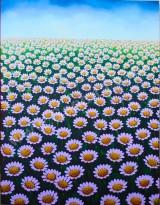 BG-50 Lukisan Bunga Margot