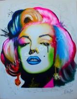 MR-03 Lukisan Marilyn Monroe